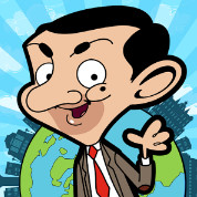 Mr Bean logo - Arcade Games