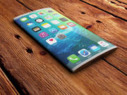 iPhone 8 Curved Display