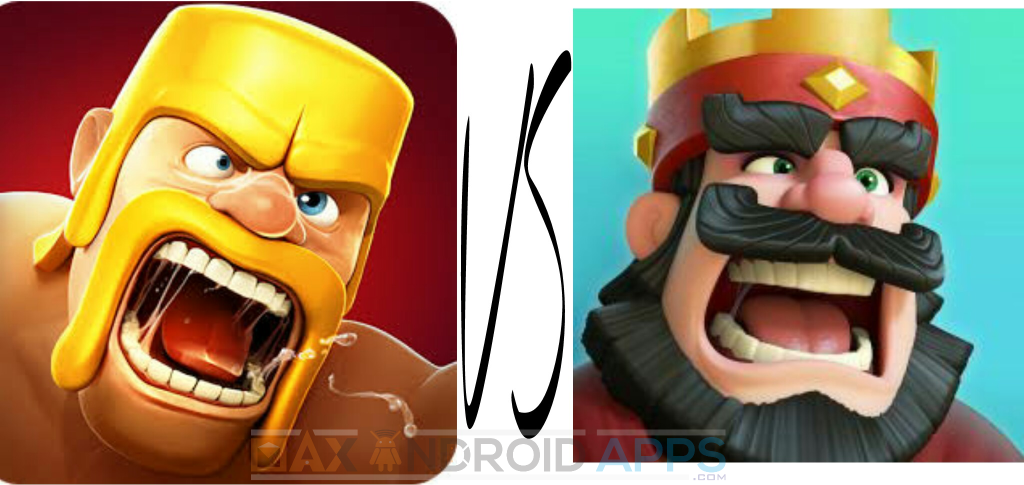 Clash OF Clans Vs Clash Royalle - coc