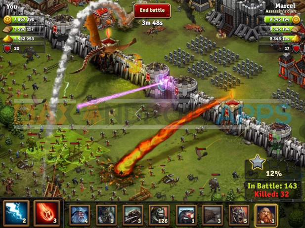Throne Rush -Top 5 Strategy Games 2016