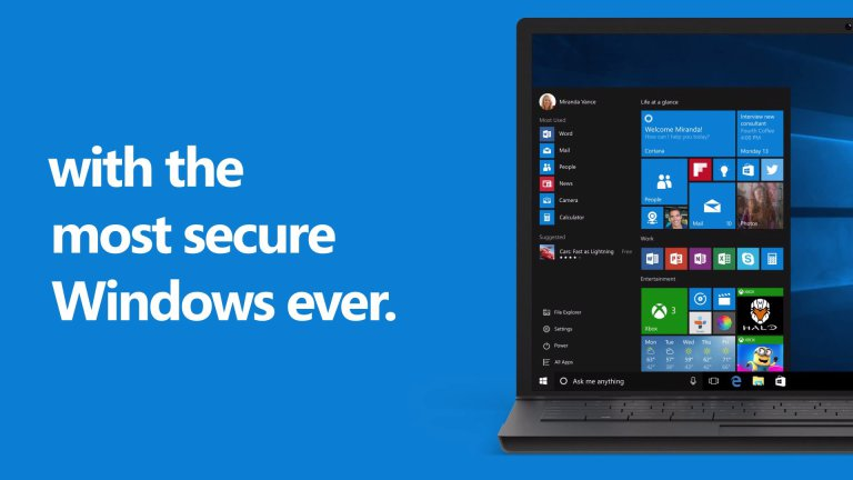 Windows 10 is Secured -Love Windows 10