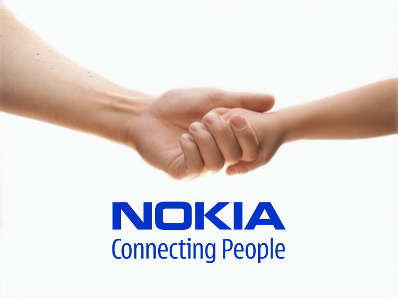 nokia-logo-connecting-people-WelCome Back Nokia
