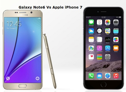 Note 7 & iPhone 7