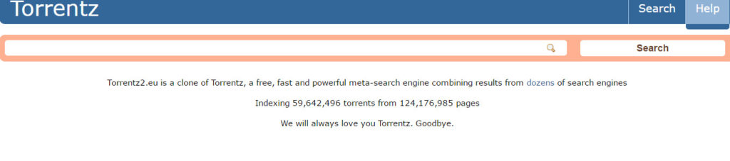 Torrentz back - torrents
